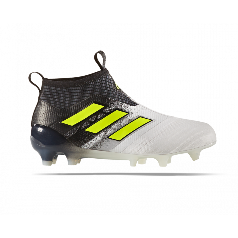 adidas ACE 17+ Purecontrol FG J Kids Weiss Gelb