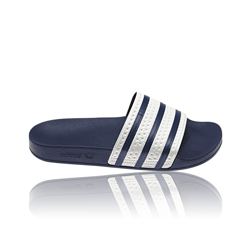 adidas originals adilette badelatschen g16220 in blau. Black Bedroom Furniture Sets. Home Design Ideas