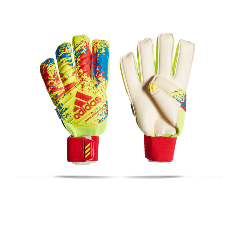 adidas Classic Pro Fingersave TW-Handschuh (DT8743) - Gelb