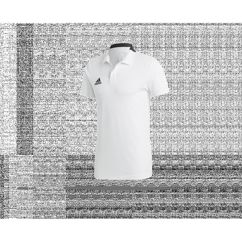 adidas Condivo 18 Cotton Poloshirt Gelb Weiss