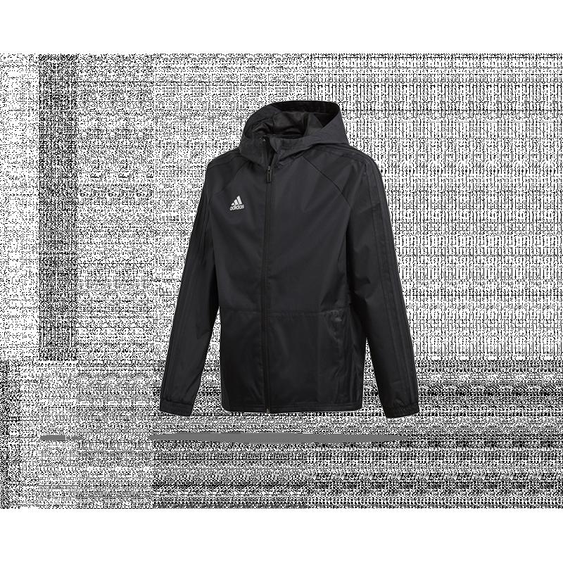 adidas condivo 18 rain jacket jacke kinder bq6624 in schwa. Black Bedroom Furniture Sets. Home Design Ideas