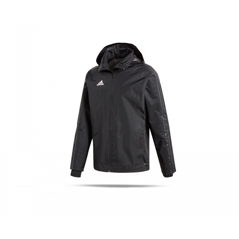d5ce8dd77290 adidas Condivo 18 Storm Jacket Jacke (BQ6548) in Schwarz