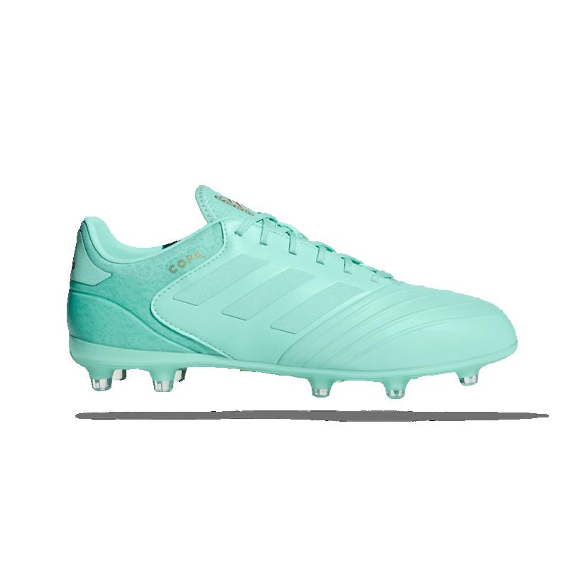 3d9c7841fb4 adidas COPA 18.2 FG Blau Grün Schuhe