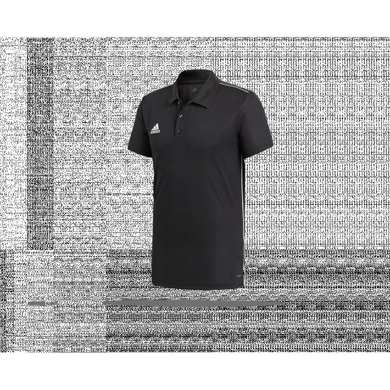 adidas Core 18 Climalite Poloshirt (CE9037) - Schwarz