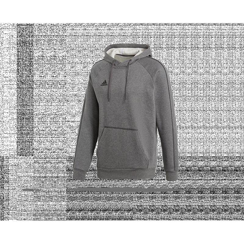 adidas Core 18 Hoody Kapuzensweatshirt (CV3327) - Grau