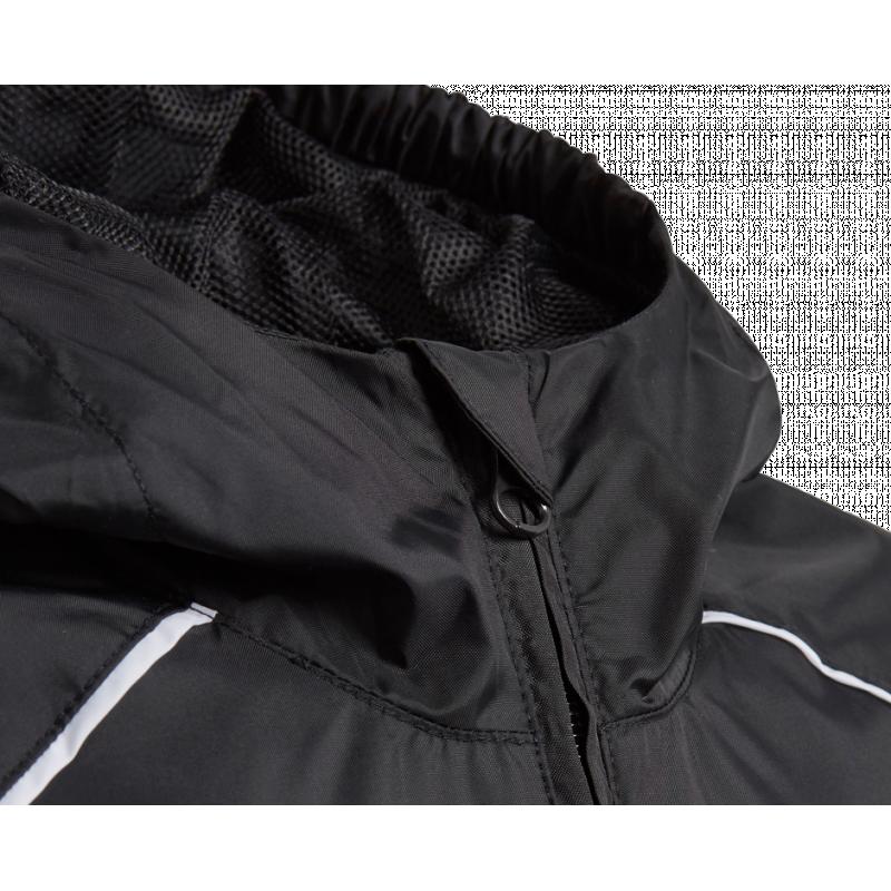 adidas core 18 rain jacket jacke kinder ce9047 in schwarz. Black Bedroom Furniture Sets. Home Design Ideas