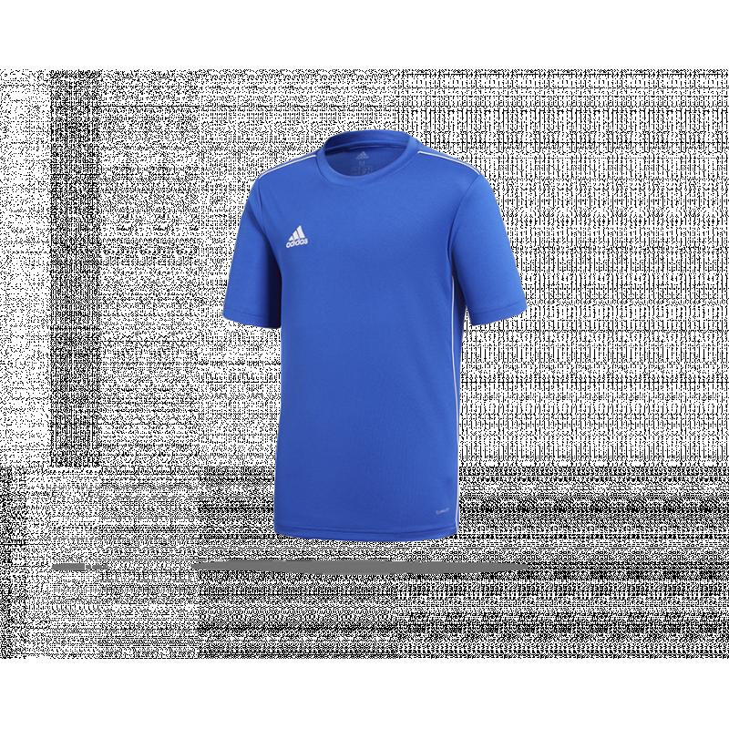 c4e4d10ede8 adidas Core 18 Trainingsshirt Kinder (CV3495) in Blau