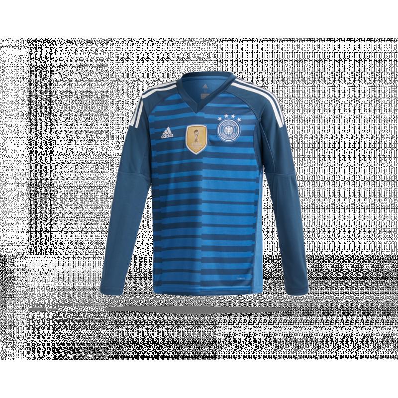 adidas Deutschland Torwarttrikot Home Kinder WM 2018 (BQ8399