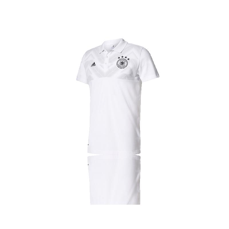 adidas DFB Deutschland Poloshirt 2017 (AZ3760) - Weiß