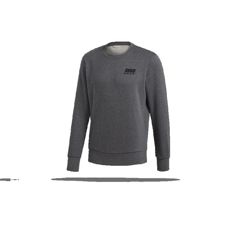 adidas dfb deutschland sgr crew sweatshirt cf2476 in grau. Black Bedroom Furniture Sets. Home Design Ideas