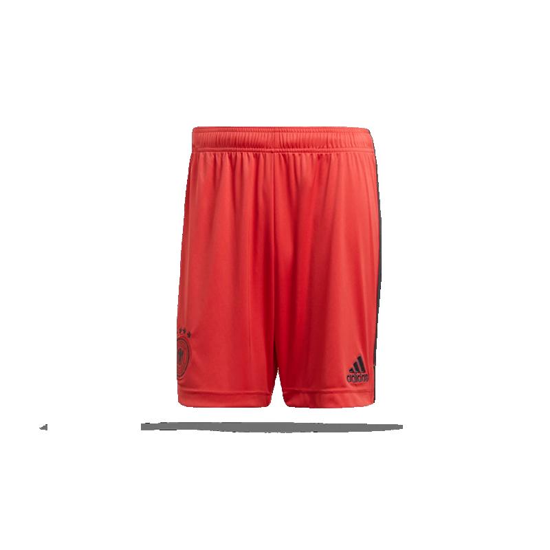adidas DFB Deutschland TW Hose kurz EM 2020 (EH6096) in Rot