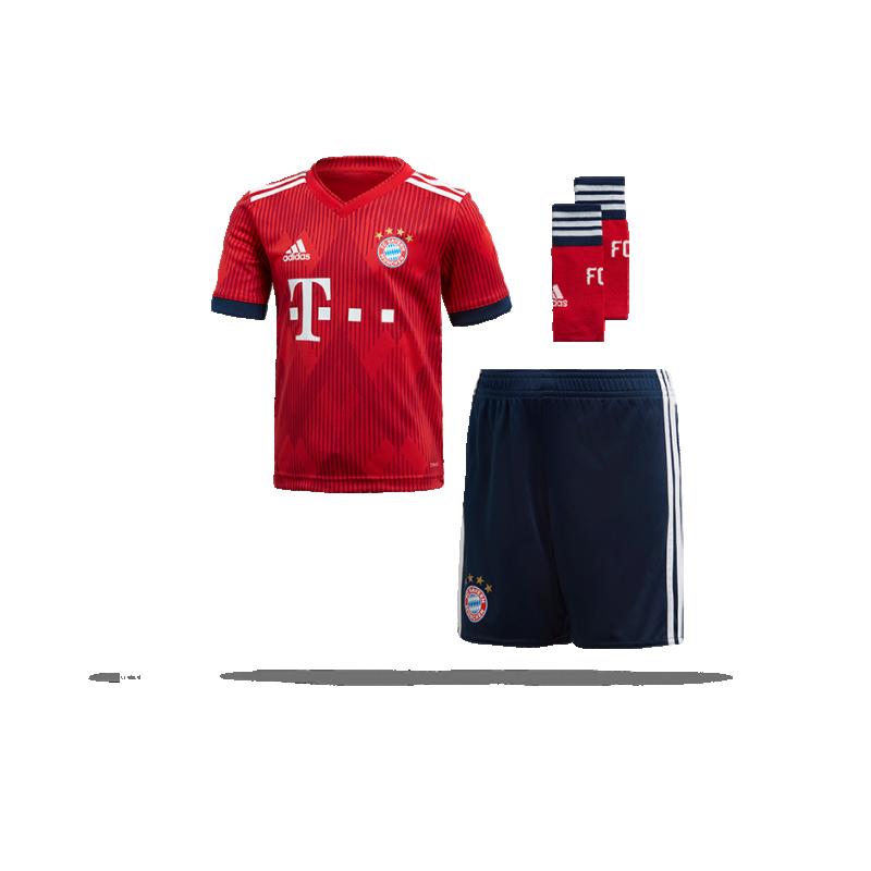 adidas FC Bayern München Minikit Home 18/19 (CF5423) - Rot
