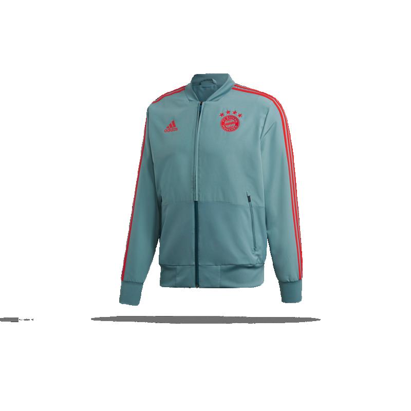 adidas FC Bayern München Präsentationsjacke (CW7298) - Grün