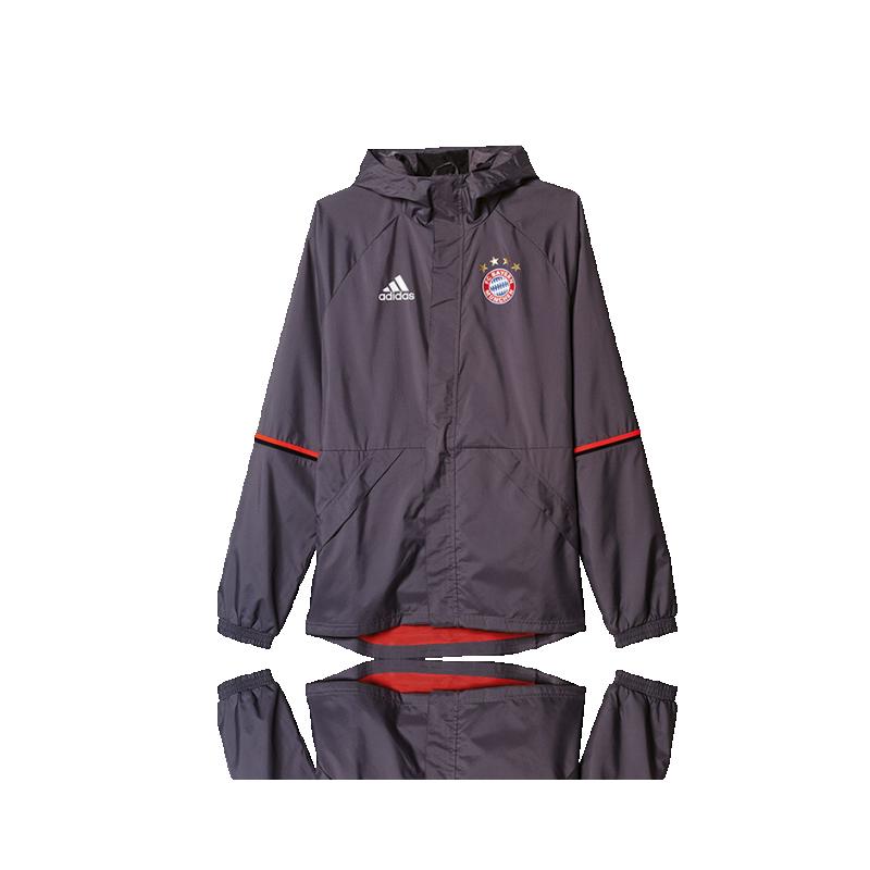 adidas FC Bayern München Regenjacke (AO0321) - Grau