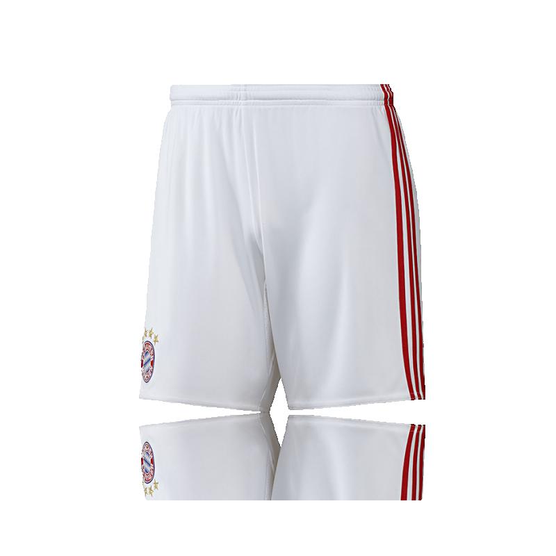 adidas FC Bayern München Short Home 16/17 (AI0058) - Weiß