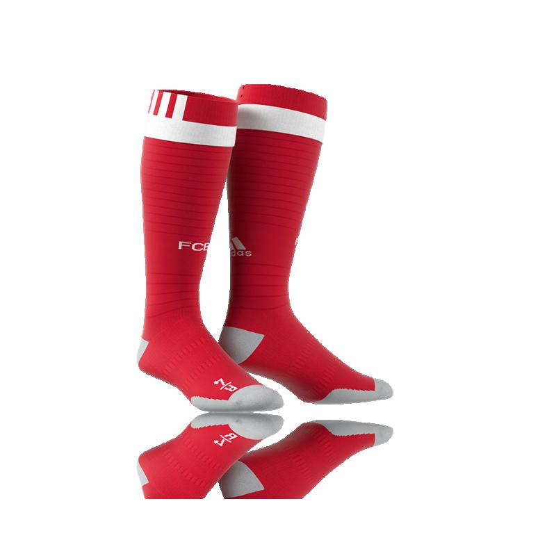 adidas FC Bayern München Stutzen Home 16/17 (AX6452) - Rot