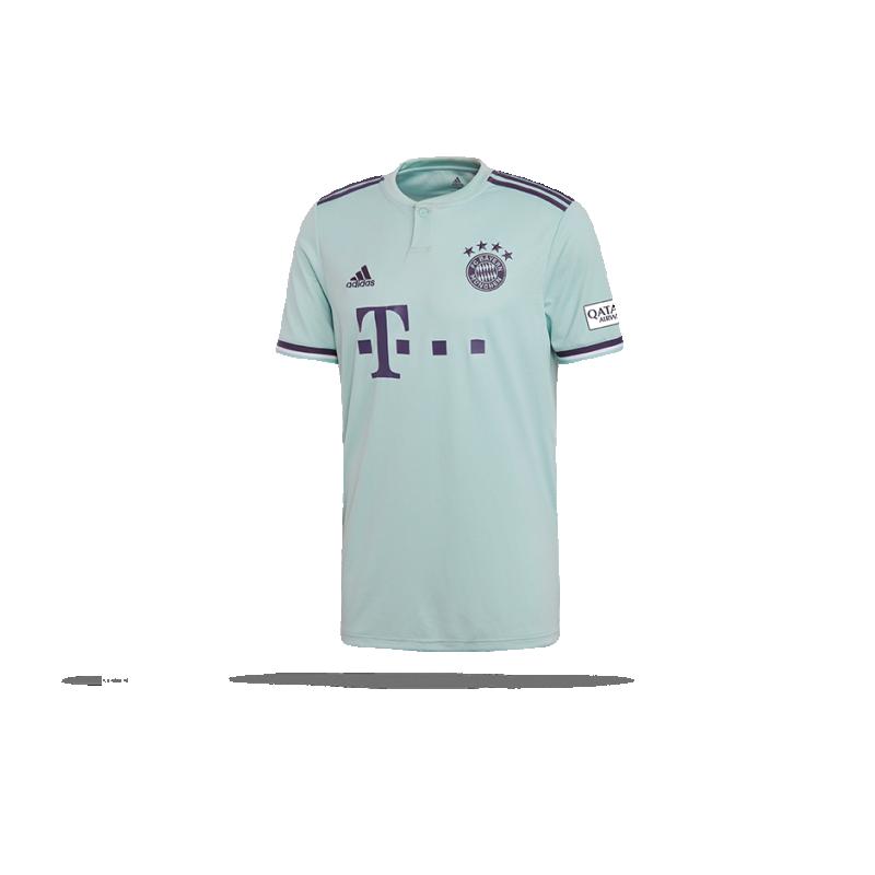 adidas FC Bayern München Trikot Away 18/19 (CF5410) - Grün