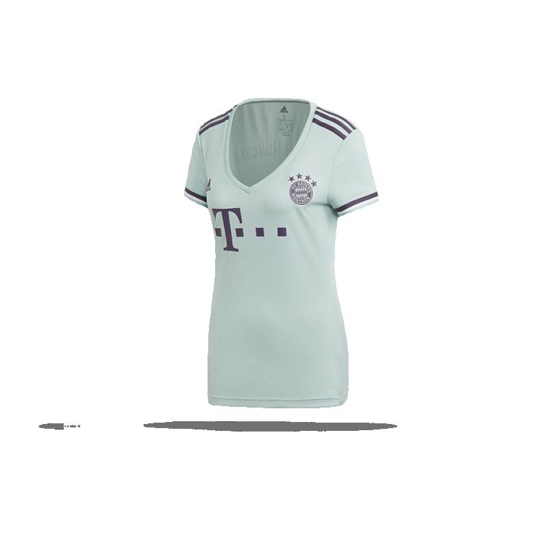 adidas FC Bayern München Trikot Away Damen 18/19 (CF5392) - Grün