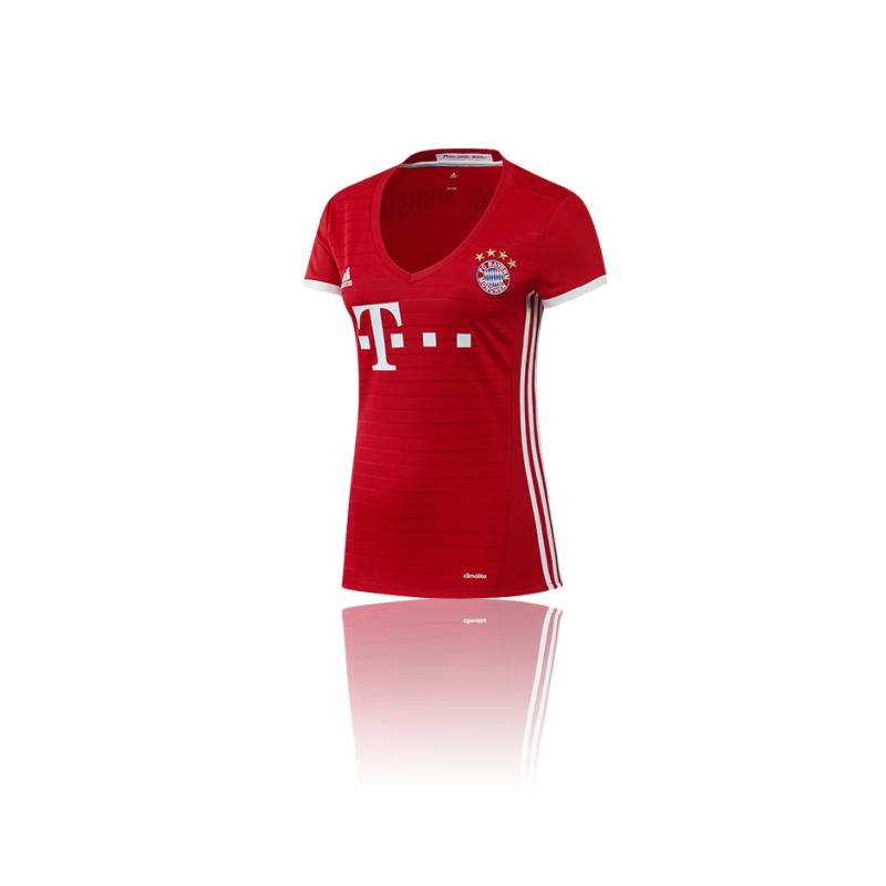 adidas fc bayern m nchen trikot home damen 16 17 ai0054 in. Black Bedroom Furniture Sets. Home Design Ideas