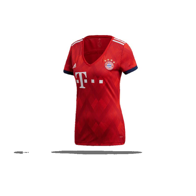 adidas FC Bayern München Trikot Home Damen 18/19 (CF5425) - Rot
