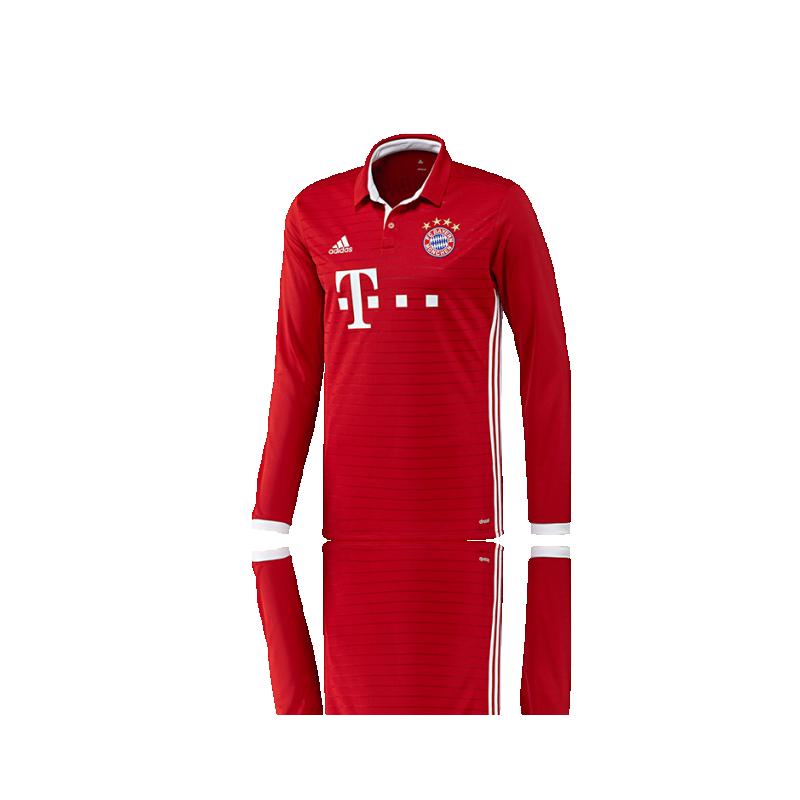 adidas FC Bayern München Trikot Home LA 16/17 (AI0051) - Rot