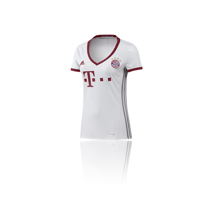 adidas fc bayern m nchen trikot ucl damen 16 17 az4666 in. Black Bedroom Furniture Sets. Home Design Ideas