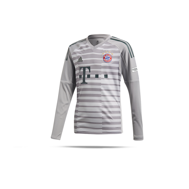 adidas FC Bayern München TW-Trikot Home 18/19 (DQ0704) - Grau