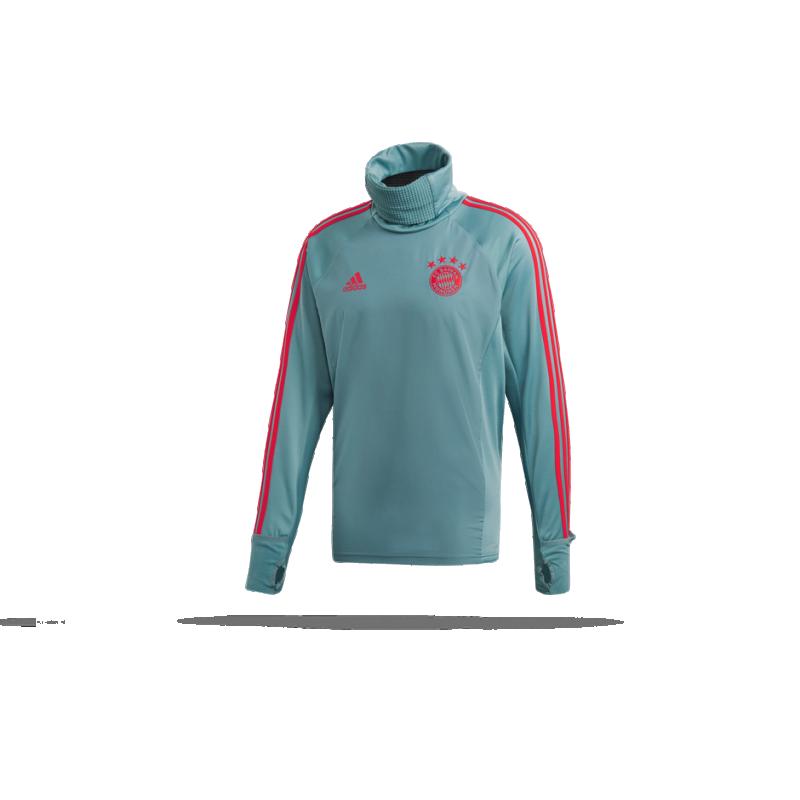 adidas FC Bayern München Warm Top (CW7255) - Grün