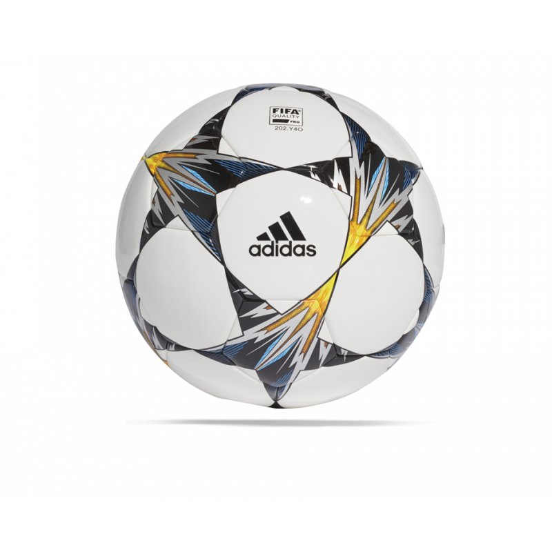 adidas Finale UCL Kiev 18 Competition Spielball (CF1205) - Weiß
