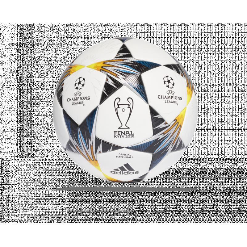 adidas UCL Finale Kiev 18 OMB Spiellball Gr. 5 (CF1203) - Weiß