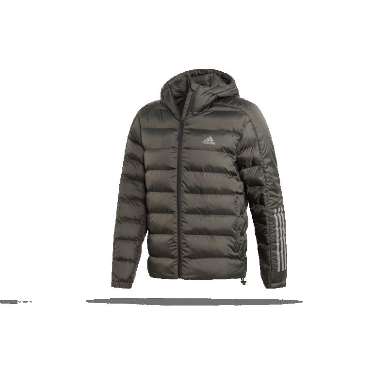 adidas Itavic 2.0 3 Stripes Jacke Grau | Sportzubehör