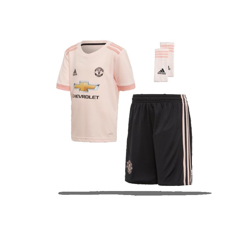 adidas Manchester United Minikit Away 18/19 (CG0062) - Pink