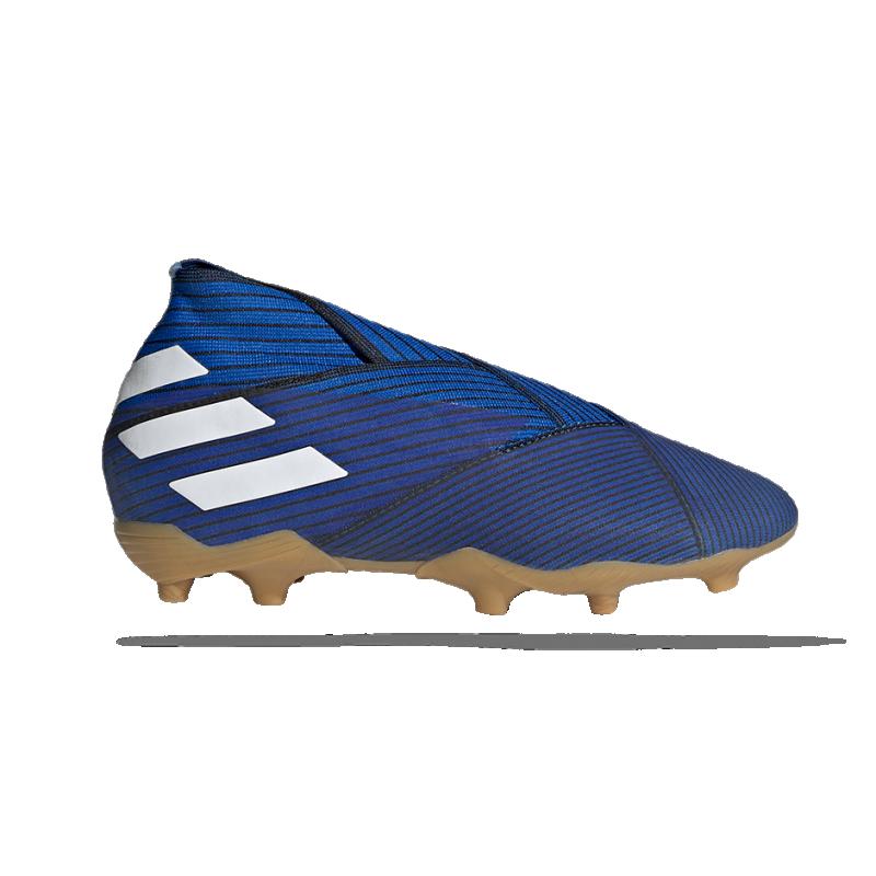 adidas NEMEZIZ 19+ FG Kinder (F99960) - Blau