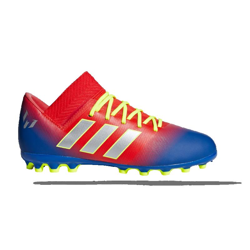999cdb111111 adidas NEMEZIZ Messi 18.3 AG Kinder (G26978) in Rot