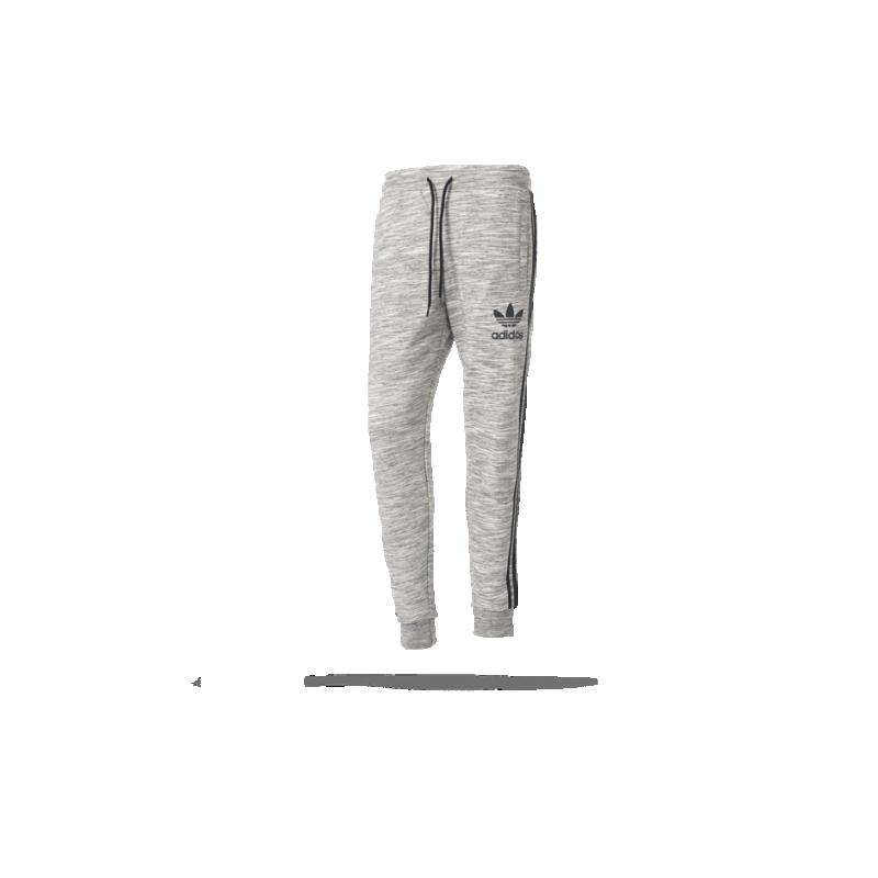 adidas originals clfn ft pants hose lang bk5903 in grau. Black Bedroom Furniture Sets. Home Design Ideas