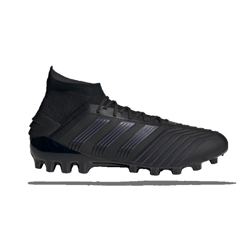 adidas Predator 19.1 AG (EF8982) - Schwarz