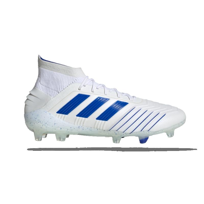 adidas Predator 19.1 FG (BC0550) - Weiß