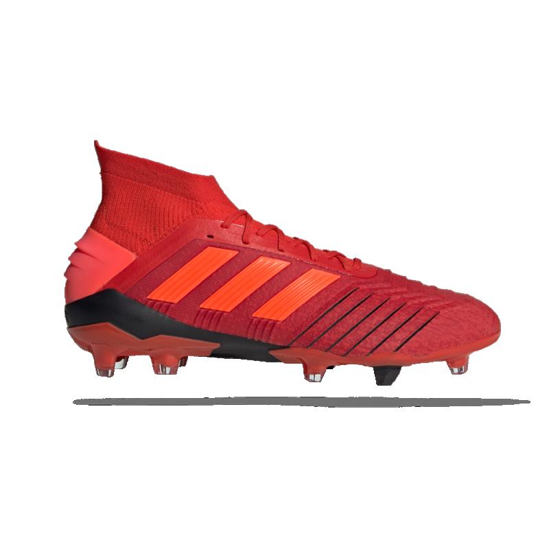 adidas Predator 19.1 FG (BC0552) - Rot