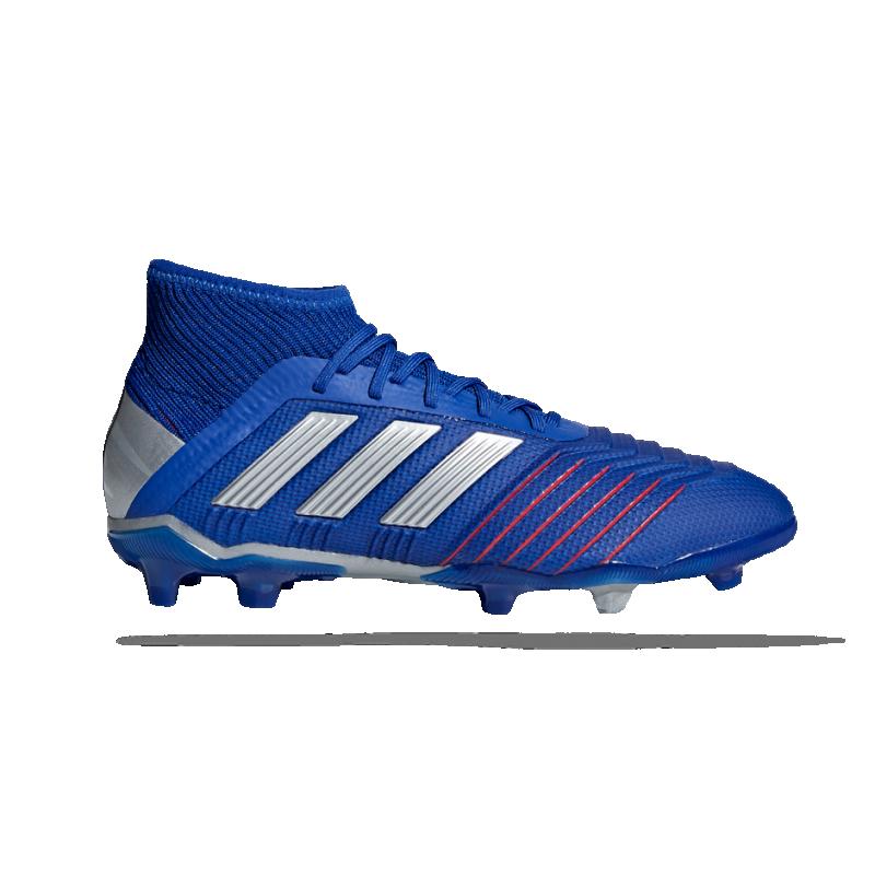 adidas Predator 19.1 FG Kinder (CM8530) - Blau