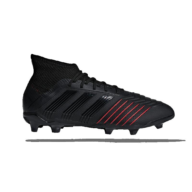 adidas Predator 19.1 FG Kinder (D97997) - Schwarz