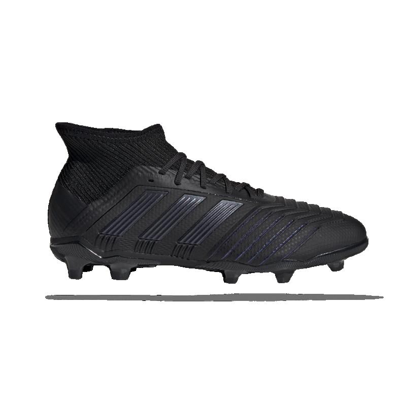 adidas Predator 19.1 FG Kinder (G25791) - Schwarz