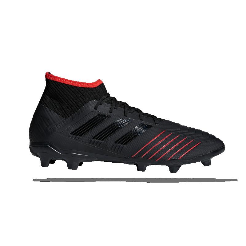 adidas Predator 19.2 FG (D97939) - Schwarz