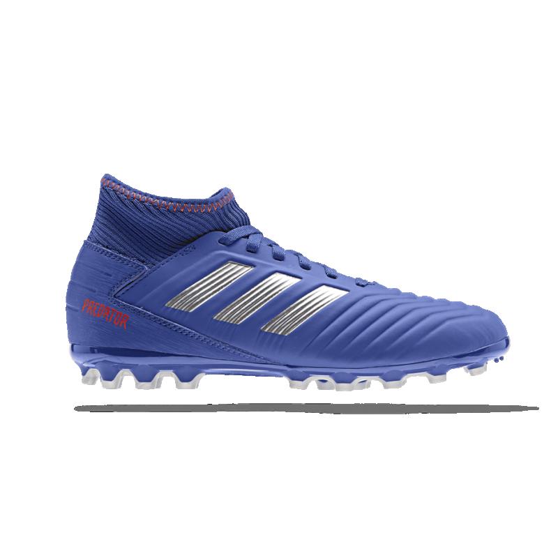 adidas Predator 19.3 AG Kinder (D98006) - Blau