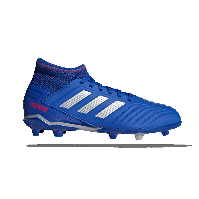 adidas Predator 19.3 FG Kinder (CM8533) - Blau