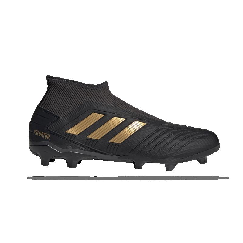 adidas Predator 19.3 LL FG (EF0374) - Schwarz