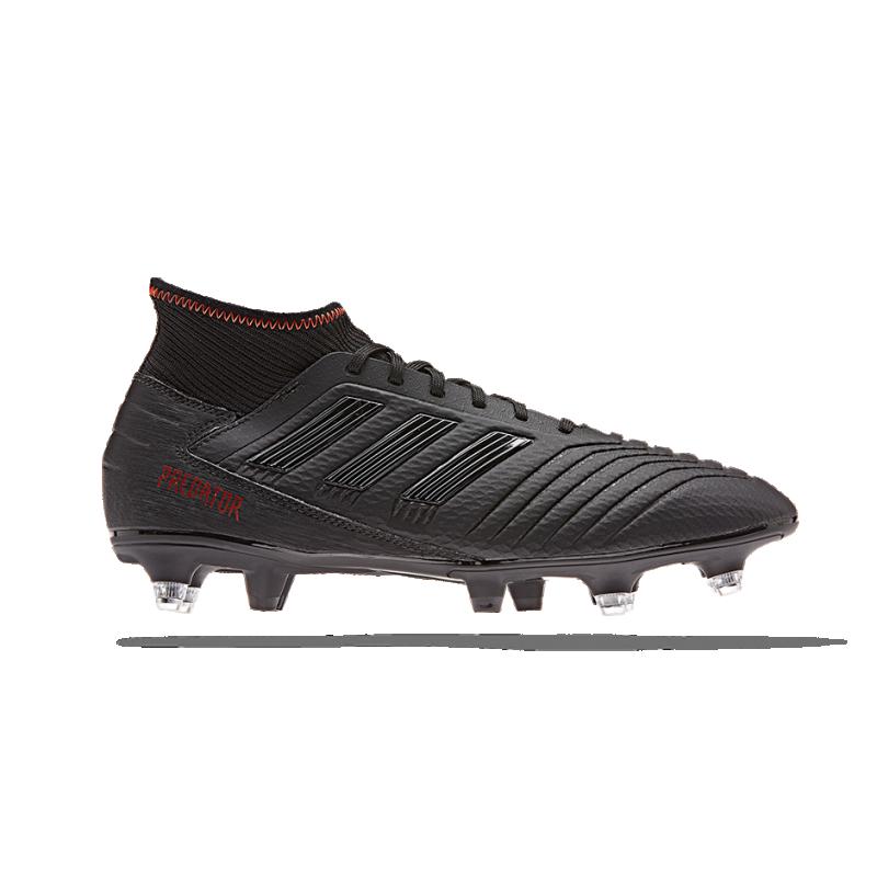 adidas Predator 19.3 SG (G26981) - Schwarz