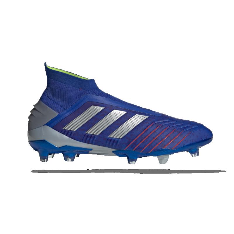 adidas Predator 19+ FG (BB9087) - Blau