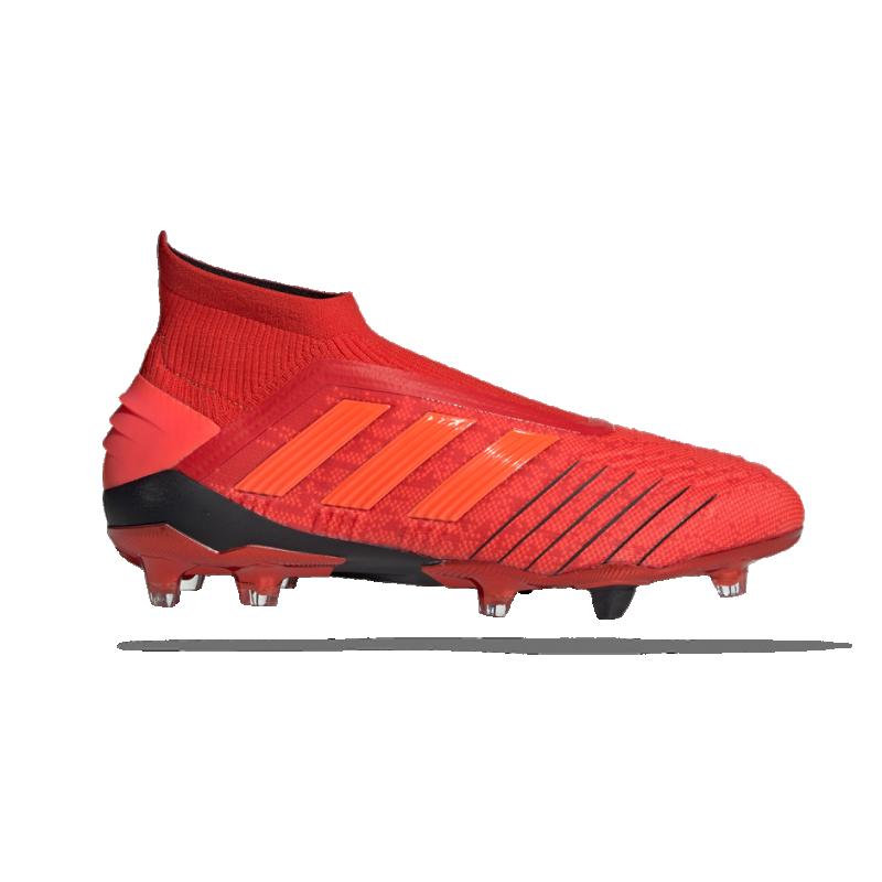 adidas Predator 19+ FG (BC0547) - Rot