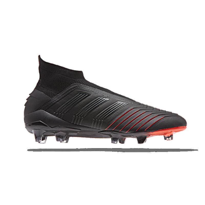 adidas Predator 19+ FG (BC0549) - Schwarz