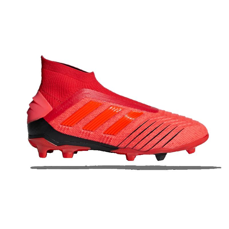 adidas Predator 19+ FG Kinder (CM8525) - Rot